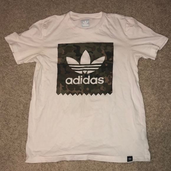 adidas Other - Adidas blackbird camo white T-Shirt b94910924505